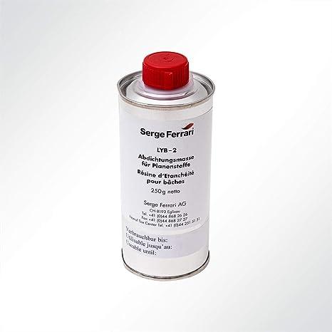 Serge Ferrari Stamoid Lyb2 Seam Sealing Agent For Tarpaulin Fabrics Transparent 250 Ml Küche Haushalt