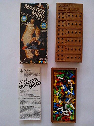 CAGO Mini Mastermind. Vintage 1972 Invicta Game. Master Mind