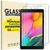 XunyLyee [2 Piezas] Protector de Pantalla Compatible Con Samsung Galaxy Tab A 8.0 2019, Cristal Templado Film para Galaxy Tab A 2019 SM-T290 / SM-T295 8.0 Pulgadas