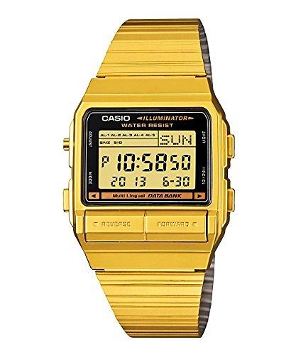 [カシオ]カシオ DATA BANK データバンク DB-380G-1 ゴールド 腕時計[逆輸入モデル]