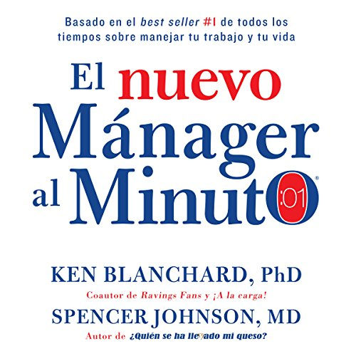 El nuevo mánager al minuto [The New One Minute Manager] audiobook cover art
