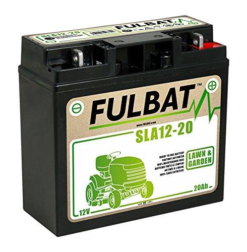 professionnel comparateur SLA 12-20 fulbat Batterie sans entretien SLA, tondeuse 12 V améliorée, 20 Ah… choix