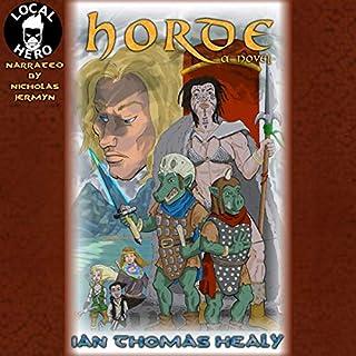 Horde audiobook cover art