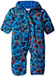 Columbia Baby Snuggly Bunny Bunting, Super Blue Critter Block/Super Blue, 12/18