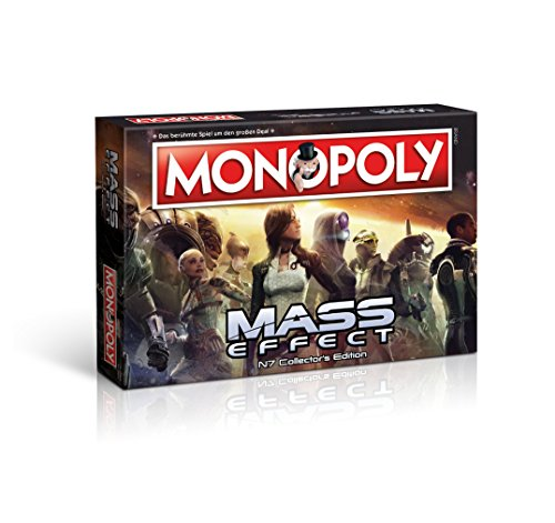 Monopoly Mass Effect N7 Collector's Edition - das beliebte Gesellschaftsspiel, trifft hier auf die Galaxie