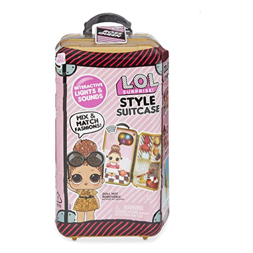 L.O.L. Surprise! Style Suitcase Interactive Surprise - Boss Queen