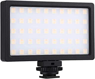 Andoer Led Fill Light RGB Dimmable 100LED 800LM Photography Lamp Camera Light Pocket Portable Photography Fill Light for D...