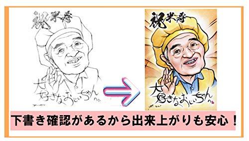 千里プラン『カリカチュアコミカル似顔絵』