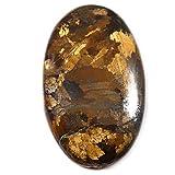 Gems&Jewels Bronzite Oval Natural Cabochon Loose Gemstone 63.8cts MX95