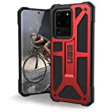 URBAN ARMOR GEAR UAG Samsung Galaxy S20 Ultra Case [6.9-inch Screen] Monarch [Crimson] Rugged Shockproof Military Drop Tested Protective Cover