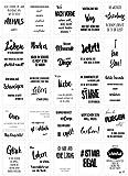 Edition Seidel Set 25 Postkarten Leben & Momente mit Sprüchen - Karten mit Spruch - Geschenk - Dekoidee, Liebe, Freundschaft, Leben, Motivation, Geburtstagskarten lustig Postkarte (20542)