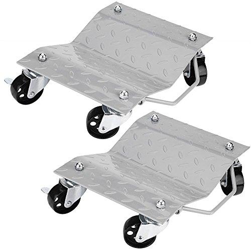 GOTOTOP Set de 2 Patines de Neumáticos Rodamientos de Bolas Camilla Plataforma...