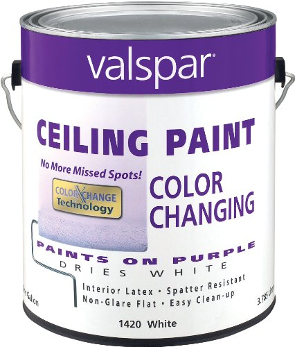 Valspar 1420 Color Changing Latex Ceiling Paint, 1-Gallon