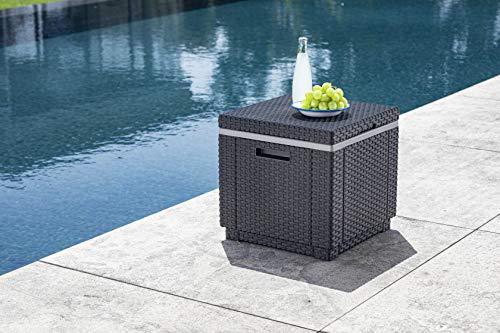 Allibert Beistelltisch/Kühlbox Ice Cube 40 Liter, graphit - 2