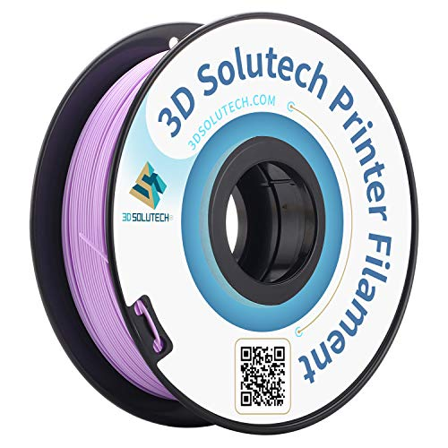 3D Solutech Lavender Purple 3D Printer PLA Filament 1.75MM Filament, Dimensional Accuracy +/- 0.03 mm, 2.2 LBS (1.0KG) - 3DSPLA175LPR