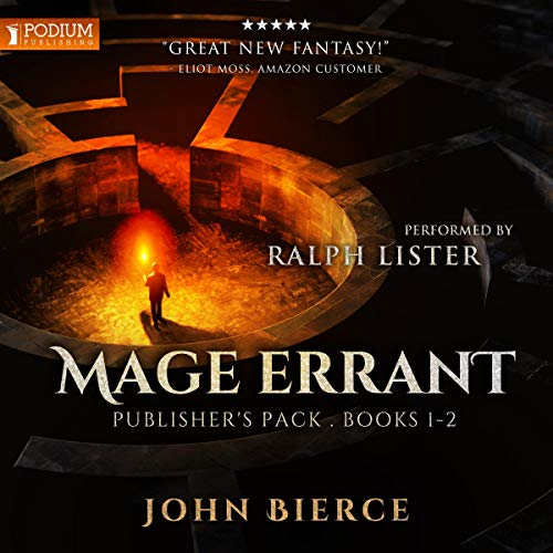 Mage Errant: Publisher's Pack audiobook cover art
