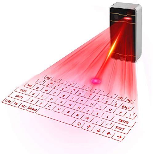 LY1 Teclado láser Bluetooth Teclado de proyección Virtual inalámbrico portátil para iOS Android Smart Phone Pad Tablet PC Notebook