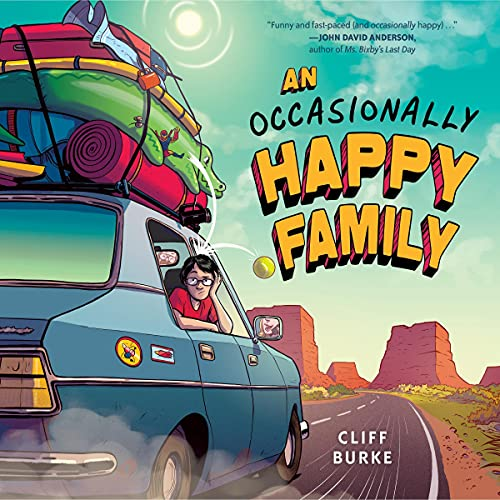 An Occasionally Happy Family Audiobook By Cliff Burke cover art