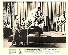 Don't Knock The Rock Original Lobby Card Little Richard Performs with Band