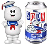 """Funko 51955 Vinyl SODA! 4.25"""" Ghostbusters Stay Puft Marshmallow Man Collectible Toy with Possible Random Chase Variant"""