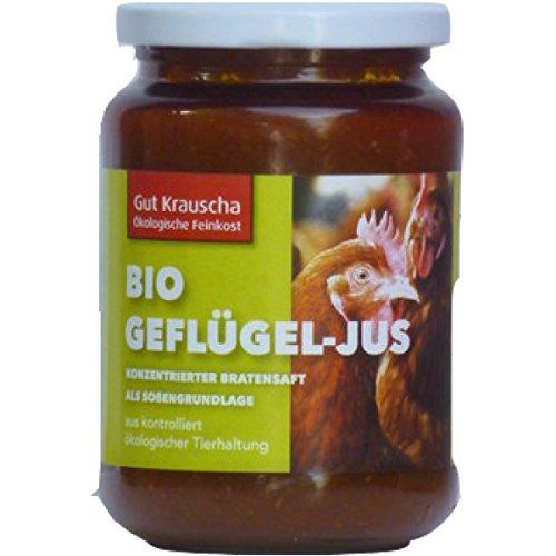 Gut Krauscha Geflügeljus (320 g) - Bio