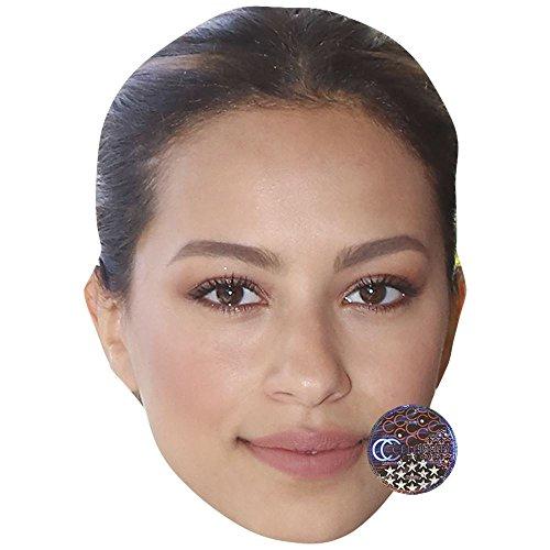 Celebrity Cutouts Gizem Emre Maske aus Karton