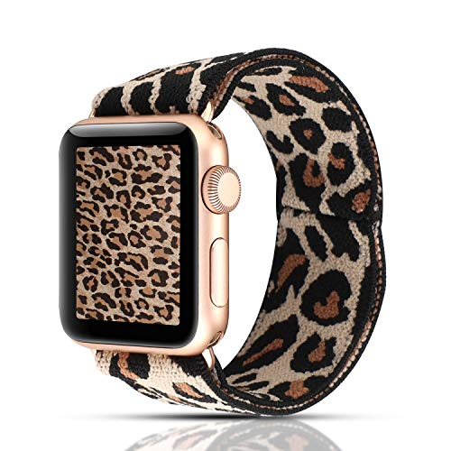 YOSWAN Apple Watch Band in Leopard Print