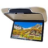 フリップダウンモニター 13.3インチ HDMI 高画質 大画面 16色 ルームランプ リアモニター 搭載 ベージュ F1331HY