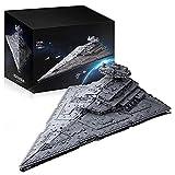 Maqueta de Destructor Estelar Technic,Star 11885 Bloques de terminales Star Wars Imperial Star Destroyer compatible con Lego Static,118 * 72 * 38