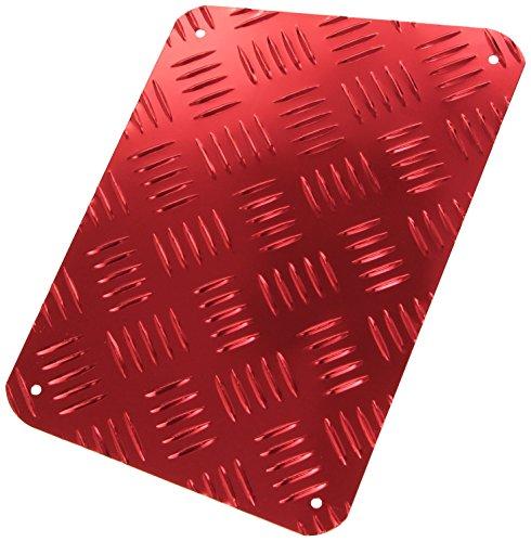 Bottari SpA 13141 battitacco Auto in Metallo, Rosso