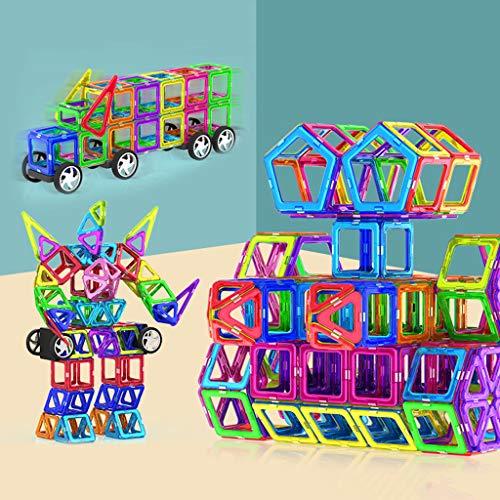 kids toys Blocs de Construction magnétiques de, Jouets éducatifs pour Enfants, Blocs de Construction magnétiques assemblés Jouets éducatifs éducatifs, adaptés aux Enfants âgés de 3 4 5 6 7 8 Ans
