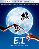 NEW BLU-RAY + DVD COMBO - E T - The Extra- Terrestrial -  Drew Barrymore,