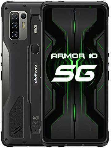 Ulefone Armor 10 5G Smartphones Unlocked MTK Dimensity 800 Octa core 8GB 128GB Android 10 Phone product image