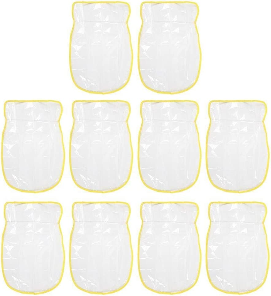 REOUG excellence 10pcs Transparent Seat Back Kic Protector Direct store Baby Cover Child