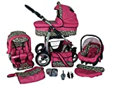 SaintBaby poussette Landau ensemble complet 3en1 2in1 Buggy siège auto bébé...