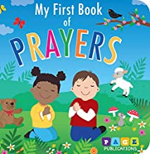 Page Publications Collection - My First Book of Prayers - Board Books - Childrens Early Learning - Perfect for Age 1 to 4