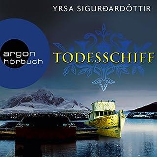 Todesschiff     Dóra Guðmundsdóttir 6              Autor:                                                                                                                                 Yrsa Sigurðardóttir                               Sprecher:                                                                                                                                 Christiane Marx                      Spieldauer: 12 Std. und 33 Min.     266 Bewertungen     Gesamt 4,5
