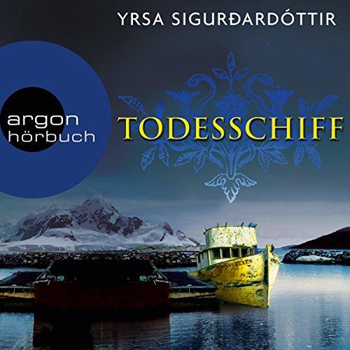 Todesschiff (Dóra Guðmundsdóttir 6) audiobook cover art