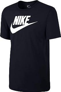 Sportswear Men's Swoosh Logo T Shirt (Black/White/White