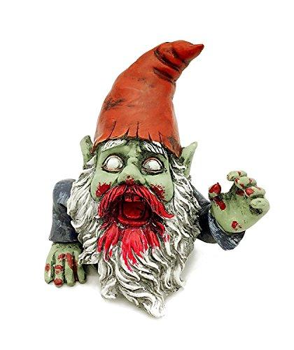 FICITI G150028 Zombie Gnome Garden Statue Sculpture