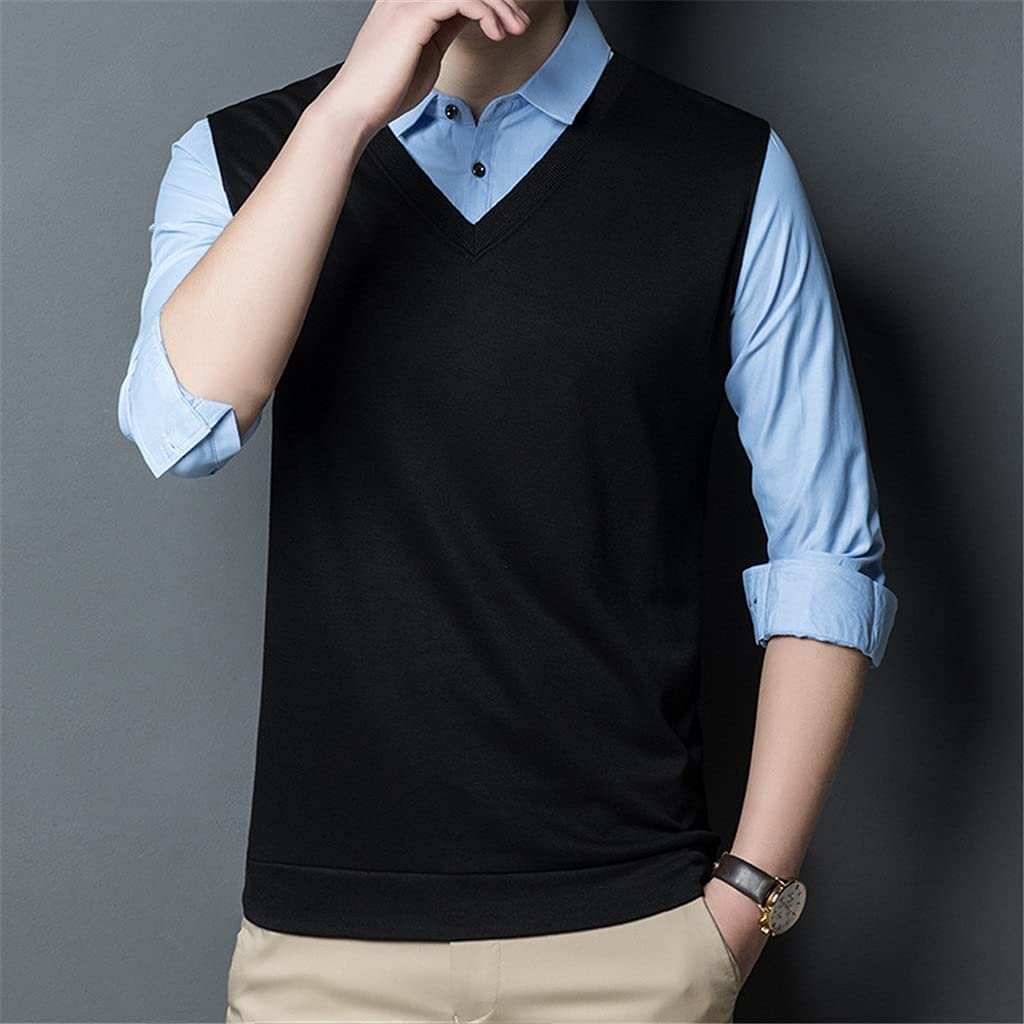 JJZXC Cotton Polo Shirt New life For Men Mail order Autumn Solid Winter Sleeve Long