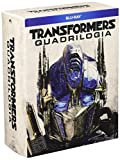 Transformers Quadrologie Box Set Teil 1-4 1 2 3 4 BLU-RAY [Import Version mit deutschen Ton]