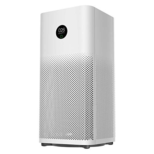 Mi Air Purifier 3H for home, high efficiency filter eliminate 99.97% smoke pollen dust, quiet for large space up to 484sq ft, for living room, bedroom