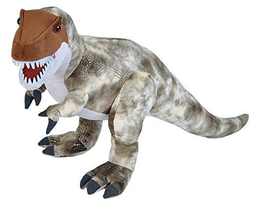 Wild Republic Dinosaur, Tirano Saurio Rex, Dinosaurio de Peluche, Regalos para Bebés, Dinosaurios para Niños, Juguetes Ecológicos, Peluches para Bebés, Relleno Elaborado con Botellas de Agua Reciclada