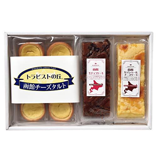 昭和製菓 函館スイーツセレクション (チーズタルト・生チョコケーキ・カマンベールチーズケーキ)