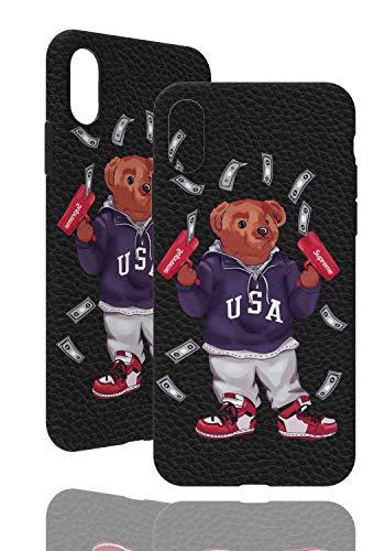 SUP Bären Hülle [ Passend für Apple iPhone X/XS - 5.8