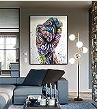 SNGTOW Farbe Faust Graffiti Kunst Poster und Drucke