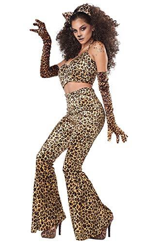 California Kostuums Luipaard Broek Set Volwassen Kostuum X-Large