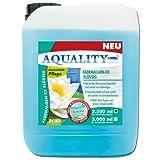 AQUALITY Gartenteich Fadenalgen-EX Flüssig (GRATIS Lieferung in DE - Flüssiger Fadenalgenvernichter, Algenmittel, Algenentferner. Löst Sich schnell im Teich auf), Inhalt:2.5 Liter