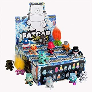 Kidrobot Fatcap Series 3 Vinyl Figure - SEALED CASE OF 20 by Kidrobot